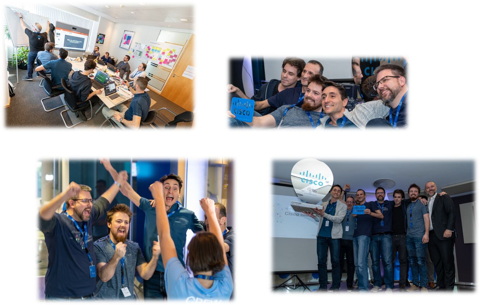 Sciensano's team excited to have won the hackaton
