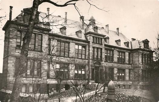 Institut Pasteur du Brabant à la rue du Remorqueur