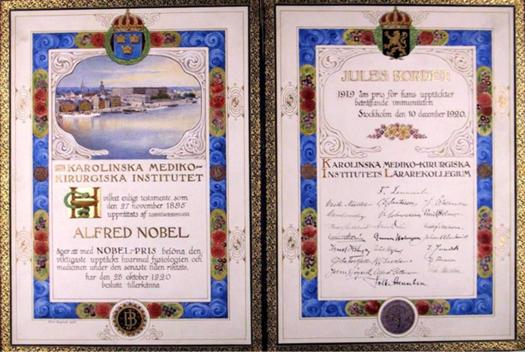 Prix Nobel 1919