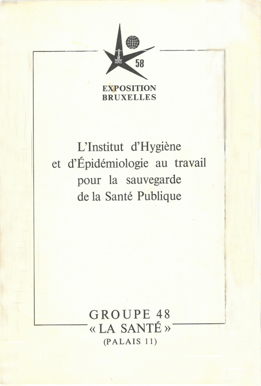 Brochure IHE pour l'Expo 58